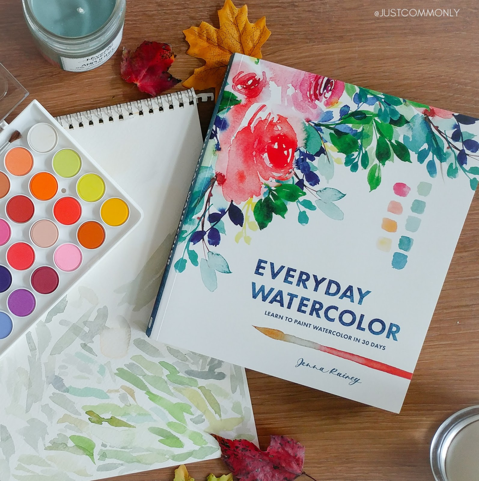 1594x1600 Book Review Everyday Watercolor Learn To Paint Watercolor In 30