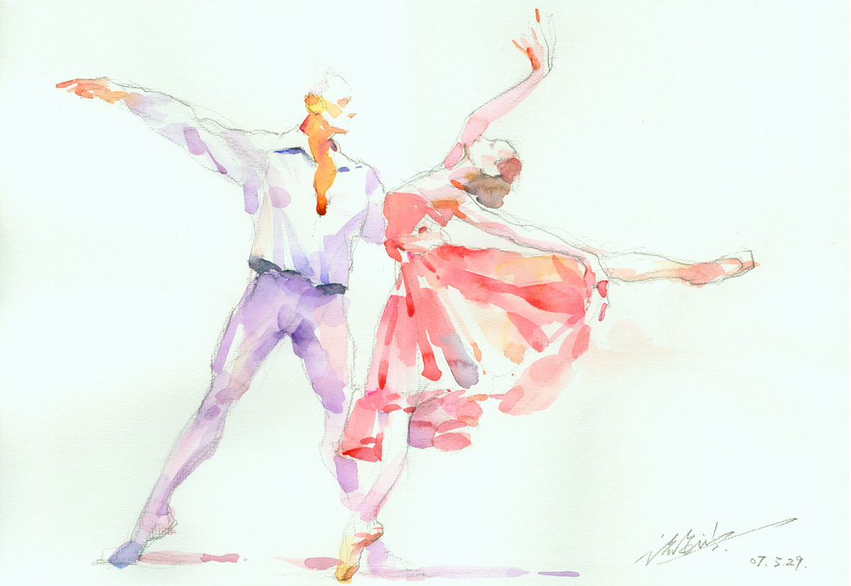 1200x826 Ballet Dancer 3 By Zhuzhu