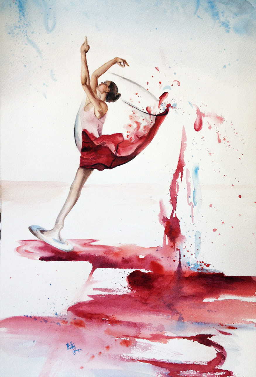 875x1286 Bethany Cannon Art Studios Dancing In Wine