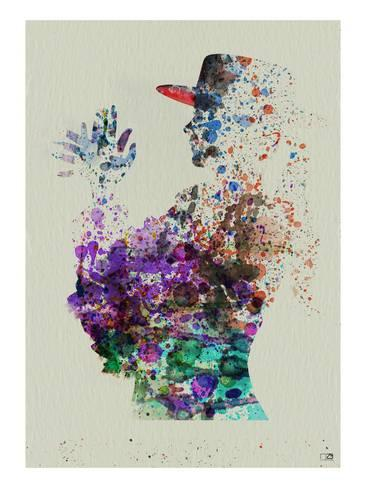 366x488 Dancer Watercolor 6 Prints By Naxart