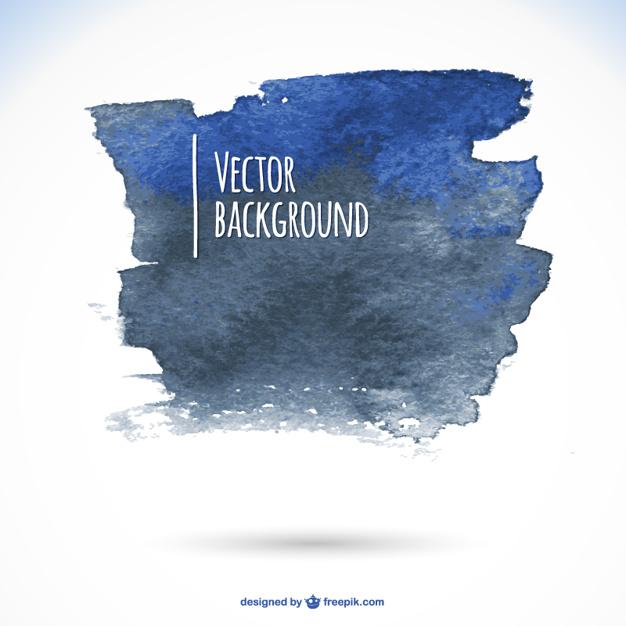 626x626 Dark Blue Watercolor Background Vector Free Download