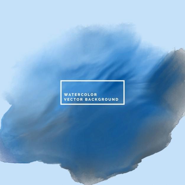 626x626 Dark Blue Watercolor Texture Vector Free Download