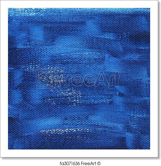 561x581 Free Art Print Of Dark Blue Painted Background With Canvas Texture