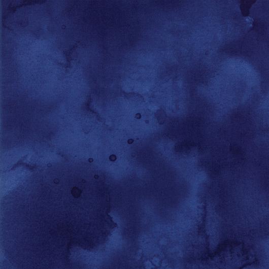 530x530 Watercolor Marine Batiks Dark Blue