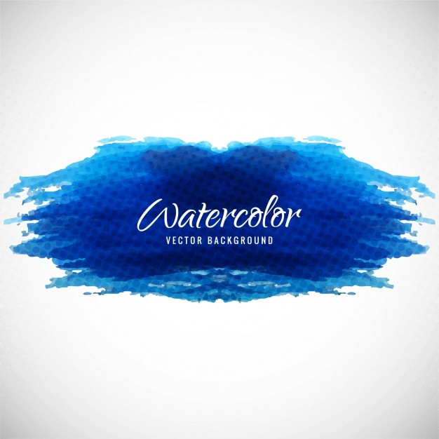 626x626 Artistic Background With Watercolor Texture, Dark Blue Color