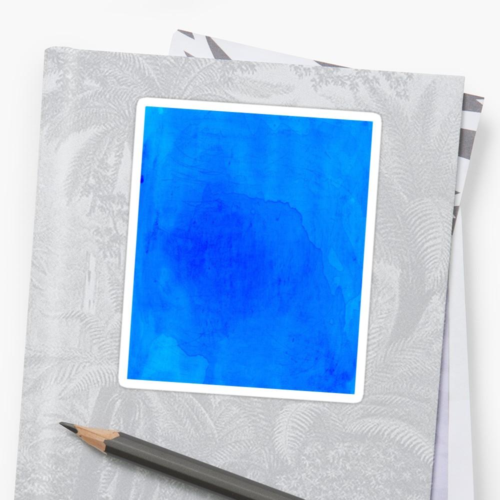 1000x1000 Dark Blue Watercolor Background Stickers By Camilia Redbubble