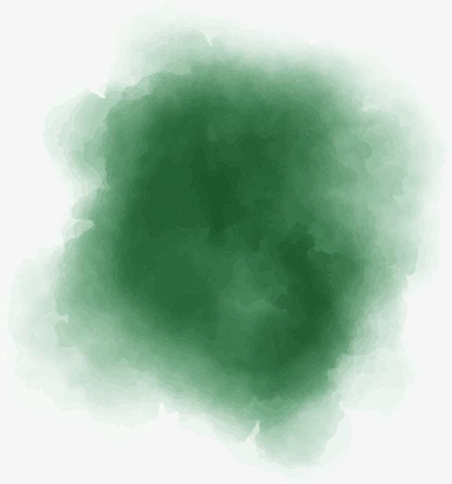 650x696 Dark Green Watercolor Background Blooming, Watercolor, Blooming