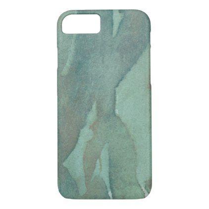 422x422 Dark Green Watercolor Iphone 87 Case Watercolor Style