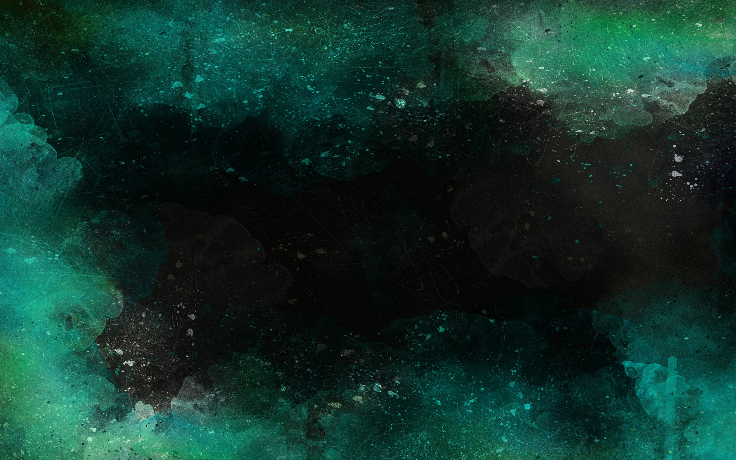 2560x1600 Dark Green Watercolor Background Dark Green Watercolor