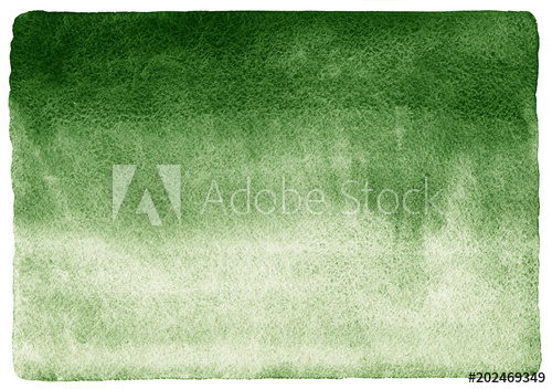 500x352 Dark Green Watercolor Background. Gradient Fill. Deep Green Hand