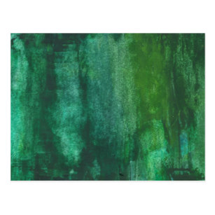 307x307 Abstract Green Watercolor Postcards Zazzle