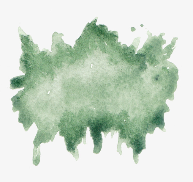 650x612 Dark Green Ink, Chinese Style, Dark Green, Watercolor Png Image
