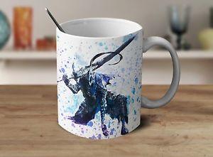 300x221 Dark Souls Mug, Dark Souls Coffee Mug, Gamer Mug, Watercolor Art