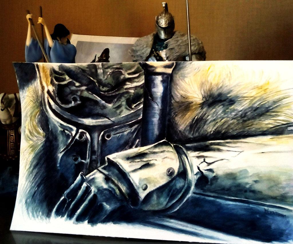 1024x852 The Knight Of Dark Souls 2