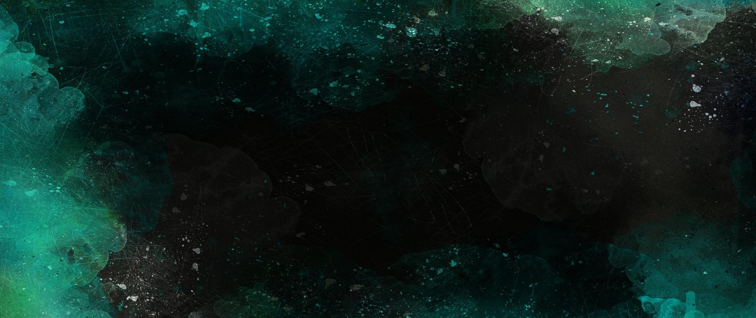 2560x1080 Download Wallpaper 2560x1080 Abstraction, Watercolor, Dark, Spots