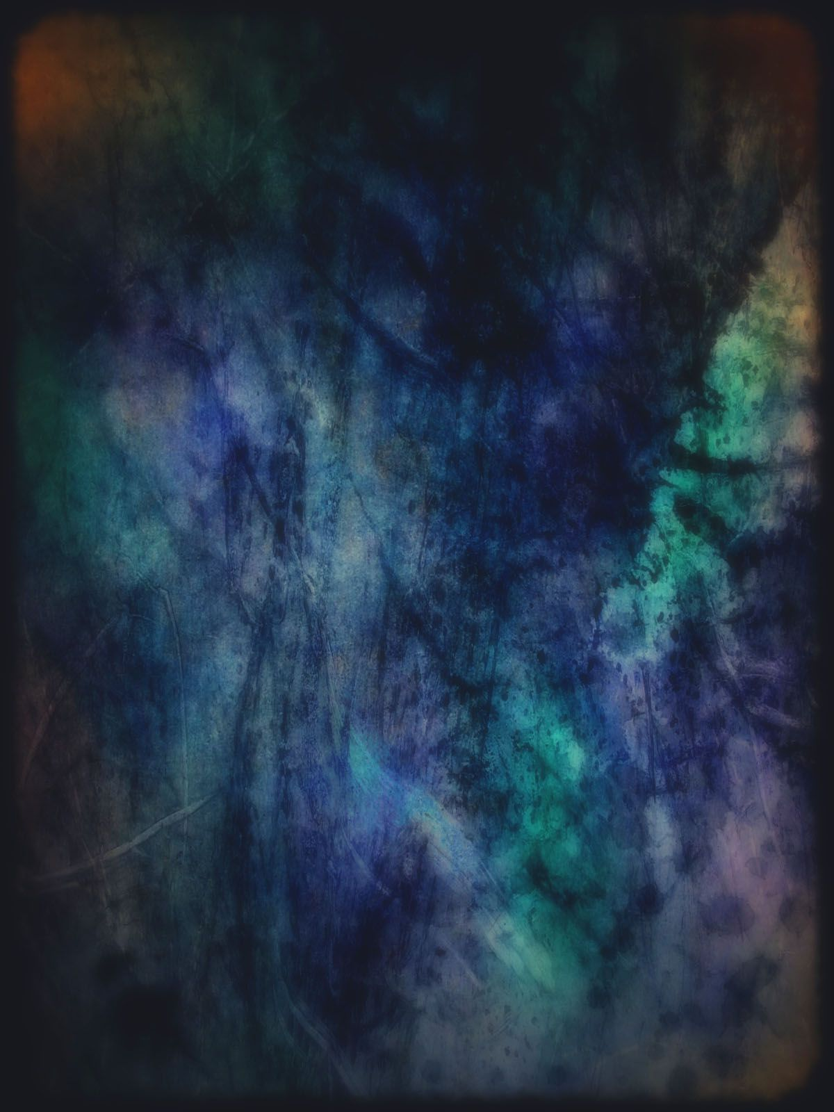 1200x1600 Dark Abstract Watercolor