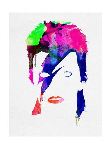 366x488 David Watercolor Prints By Lora Feldman