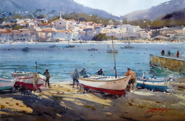620x406 Improve Your Watercolours With David Taylor