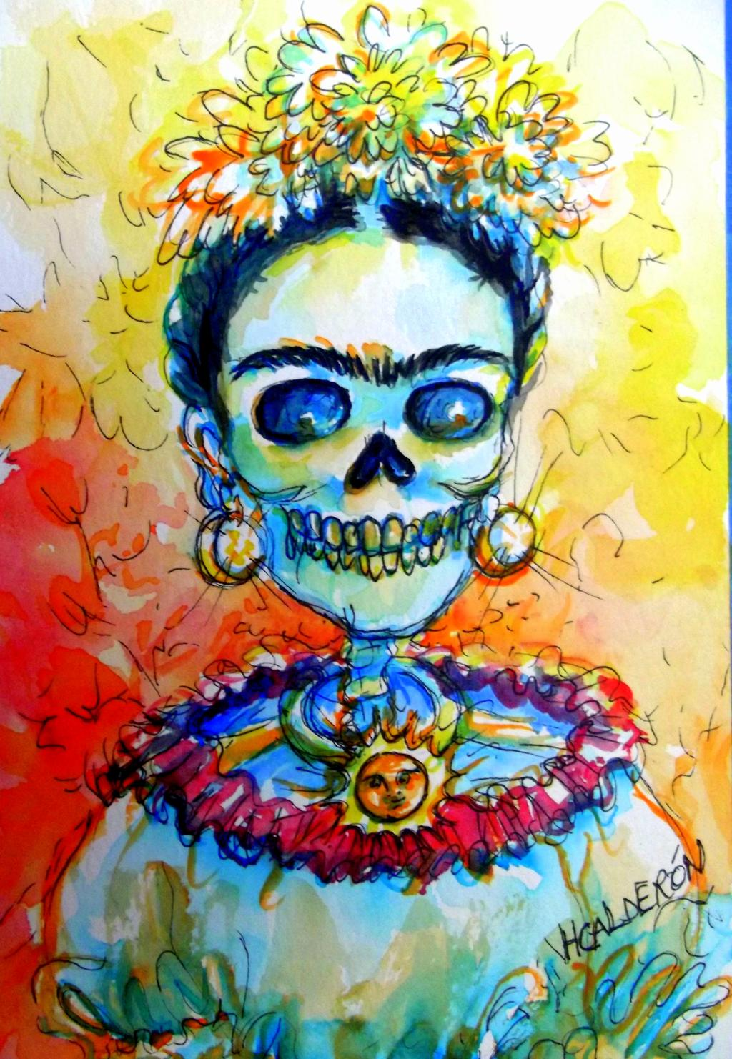 1024x1482 Day Of The Dead Art