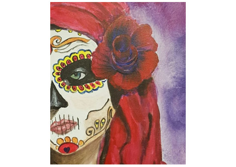 470x333 Calavera Sugar Skull Day Of The Dead