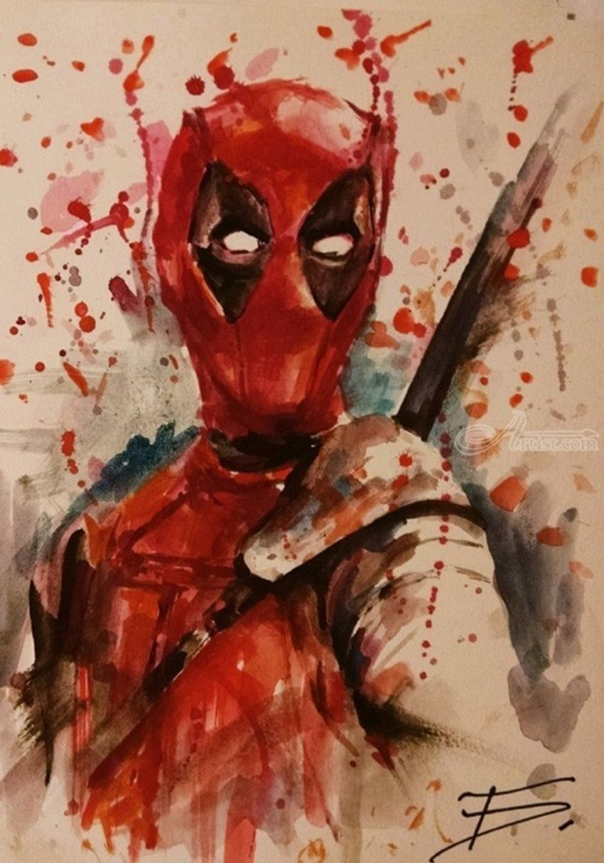 850x1214 Deadpool Print,marvel Art,comics Art,deadpool Movie Poster,dc