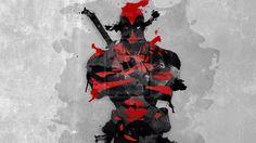 236x132 Watercolor Deadpool