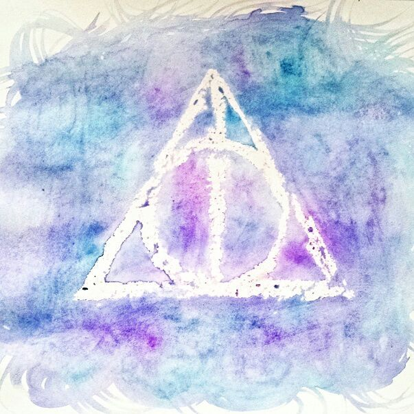 603x603 Watercolor Paintings Harry Potter Amino