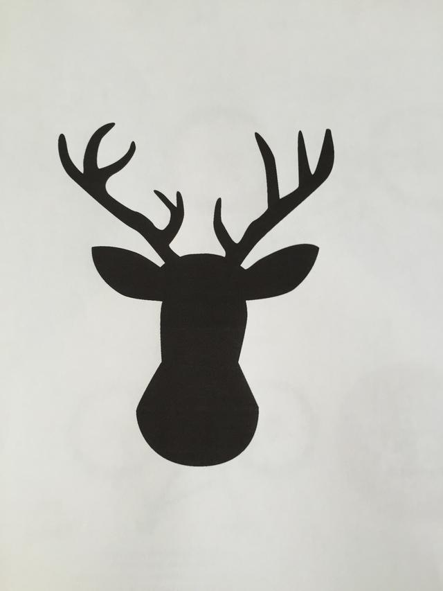 640x853 How To Create A Watercolor Deer