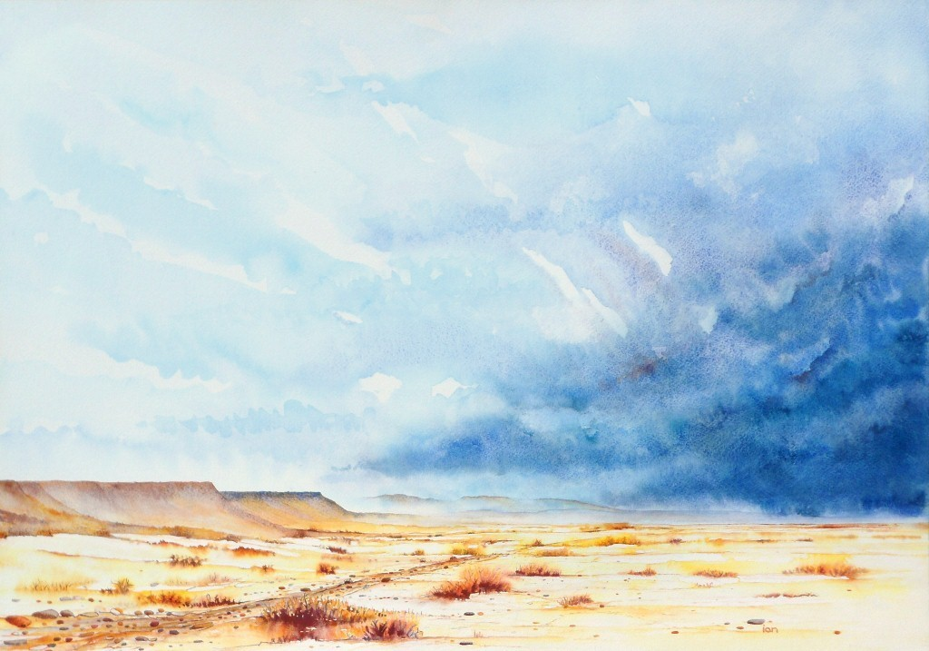 1024x717 Ian Willis Artwork Promise Of Rain Original Watercolor