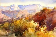 Desert Watercolor Paintings