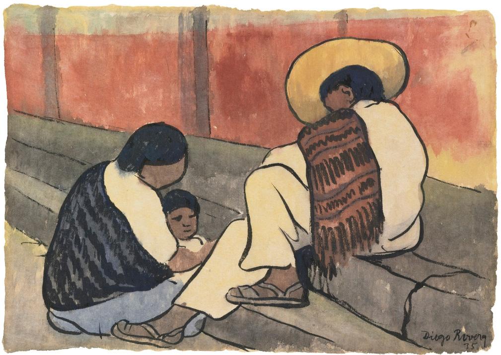 1009x715 Diego Rivera (1886 1957)