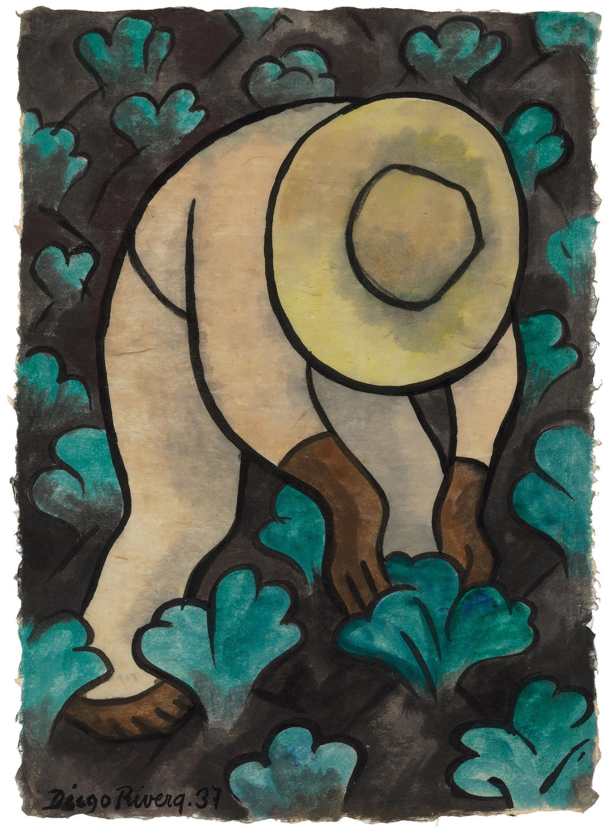 2040x2774 Diego Rivera (Mexican 1886 1957) Sembrador De Coles Also Known