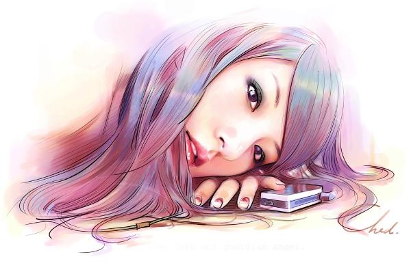 Digital Art In Watercolor