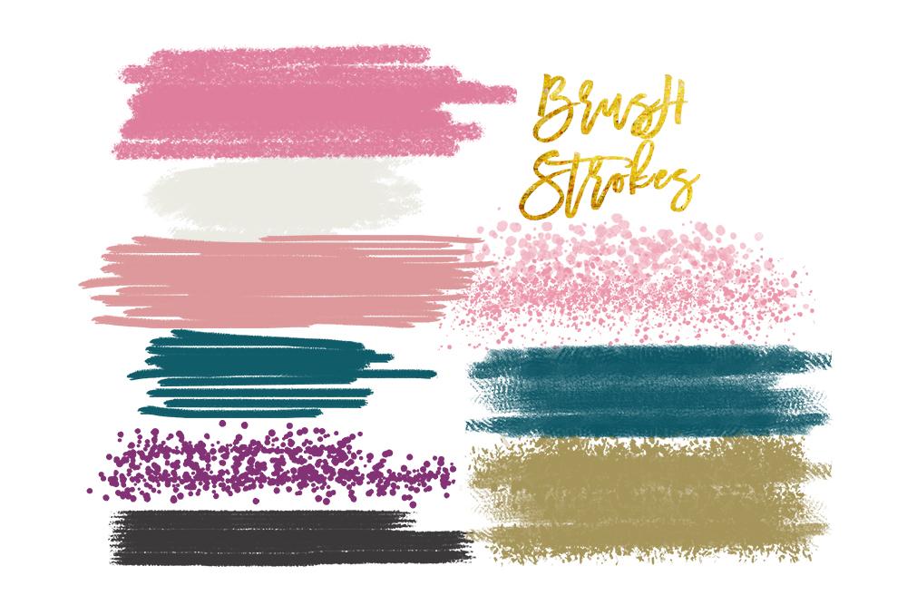 1000x667 Digital Watercolor Brush Strokes, Acrylic Brush, Digital Brush