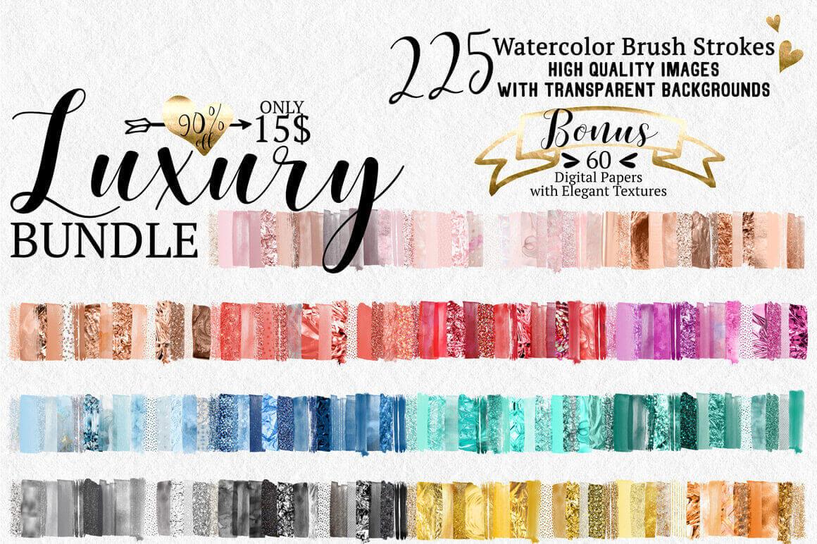 Digital Watercolor Brushes