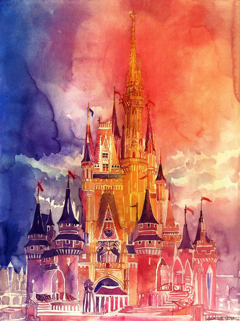 773x1033 Cinderella Castle By Takmaj
