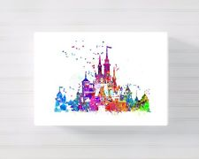 225x180 Disney Castle Canvas Ebay