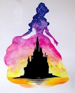 240x300 Princess And The Disney Castle 5d Diy Diamond Painting Ebay