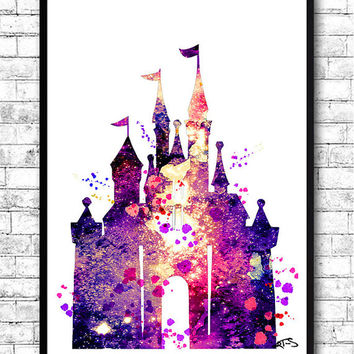 354x354 Shop Disney Castle Wall Art On Wanelo