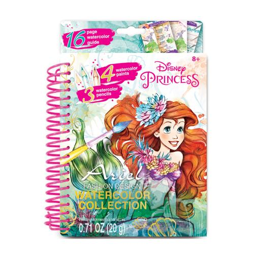 508x508 Disney Princess Ariel Watercolor Activity Book