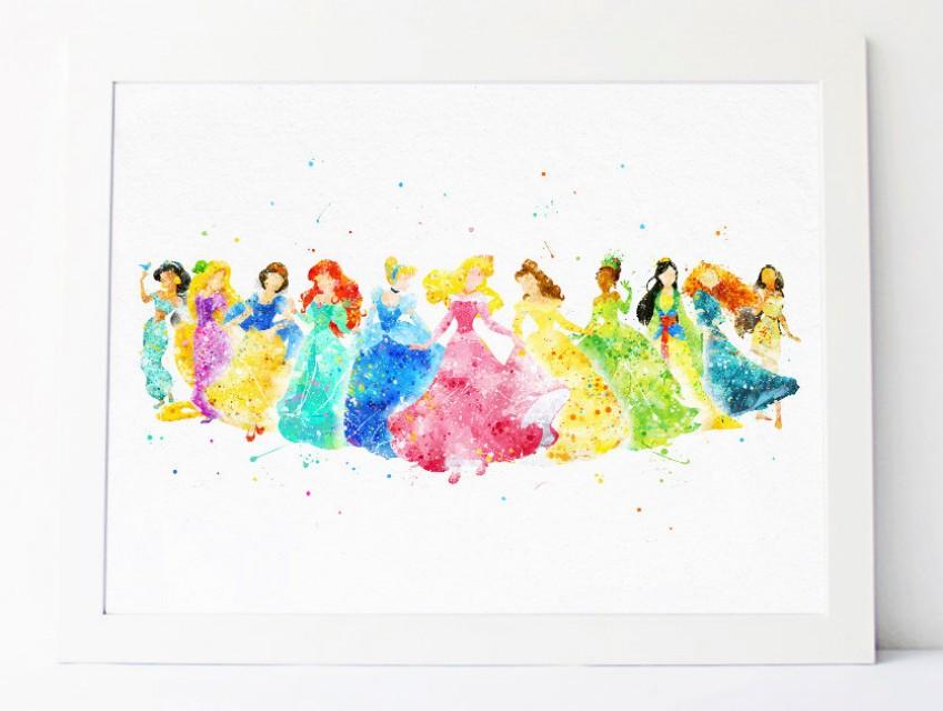 849x640 Disney Princess Collection