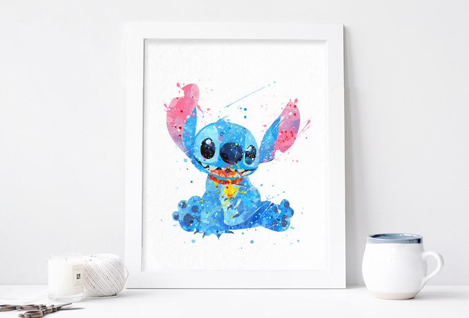 922x626 Lilo And Stitch Disney Print Download