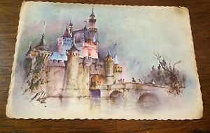 Disneyland Watercolor