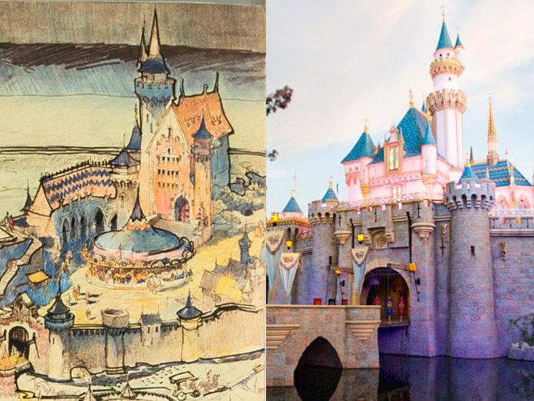 750x563 Original Map Of Disneyland Drawn By Walt Disney Reveals Changes