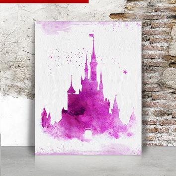 354x354 Shop Disney Castle Wall On Wanelo
