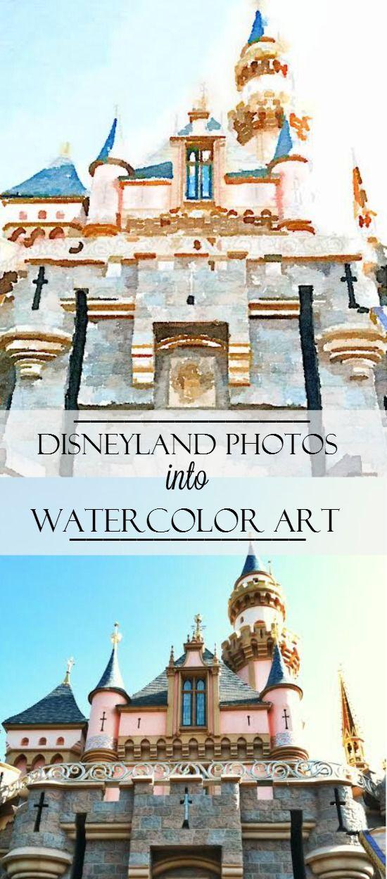 550x1250 Turn Your Disney Photos Into Watercolor Art