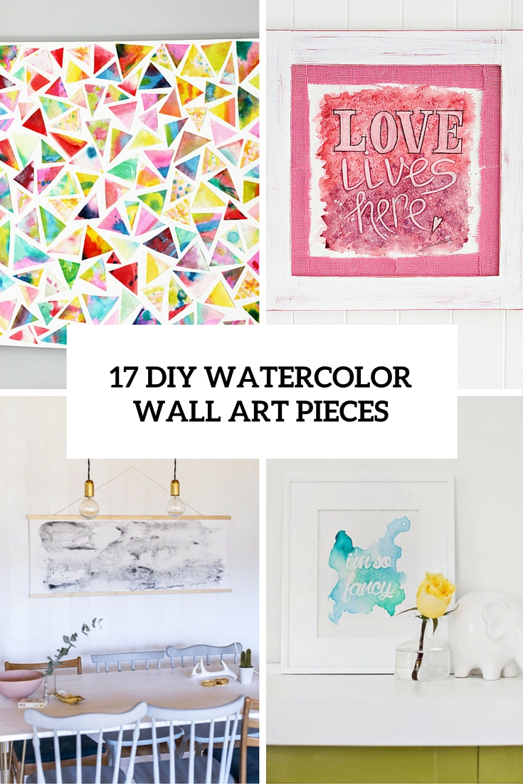 735x1102 17 Diy Watercolor Wall Art Pieces To Get Inspired