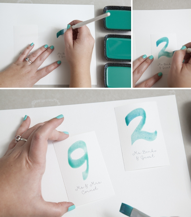 660x747 Learn Exactly How To Diy Watercolor Wedding Invitations!
