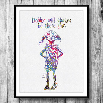 354x354 Instant Download Dobby Quote From Harry From Bittermoonpapershop