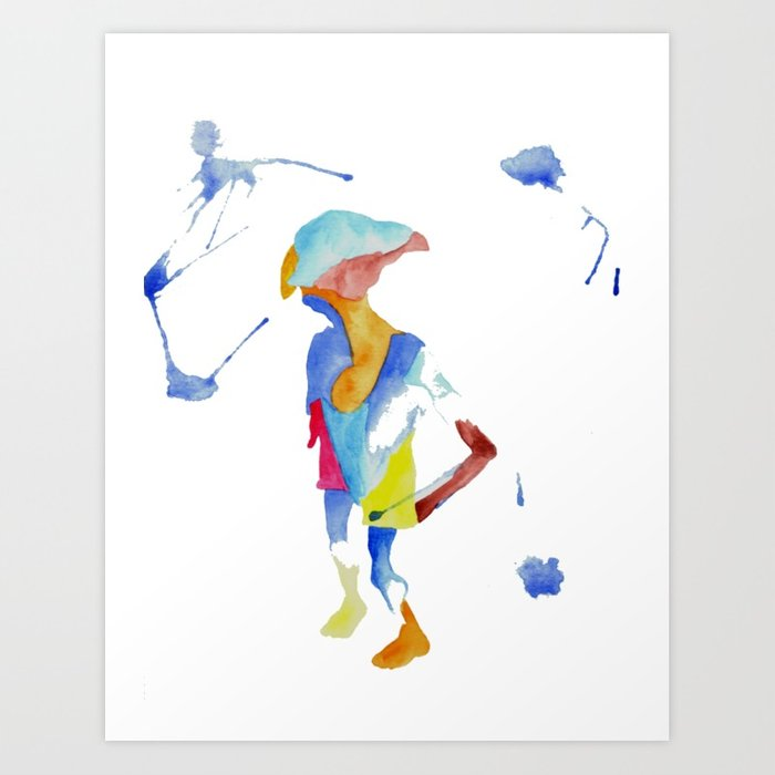 700x700 Dobby Art Print By Zwardart Society6